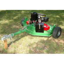 Trailer mounted ATV finishing mower