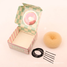 Kit de bolos de donuts de pelo rubio (BUN-38)