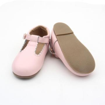 Borong Baby Girls Dress Shoes T Bar Shoes