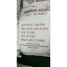 Ammonium acetate food additive