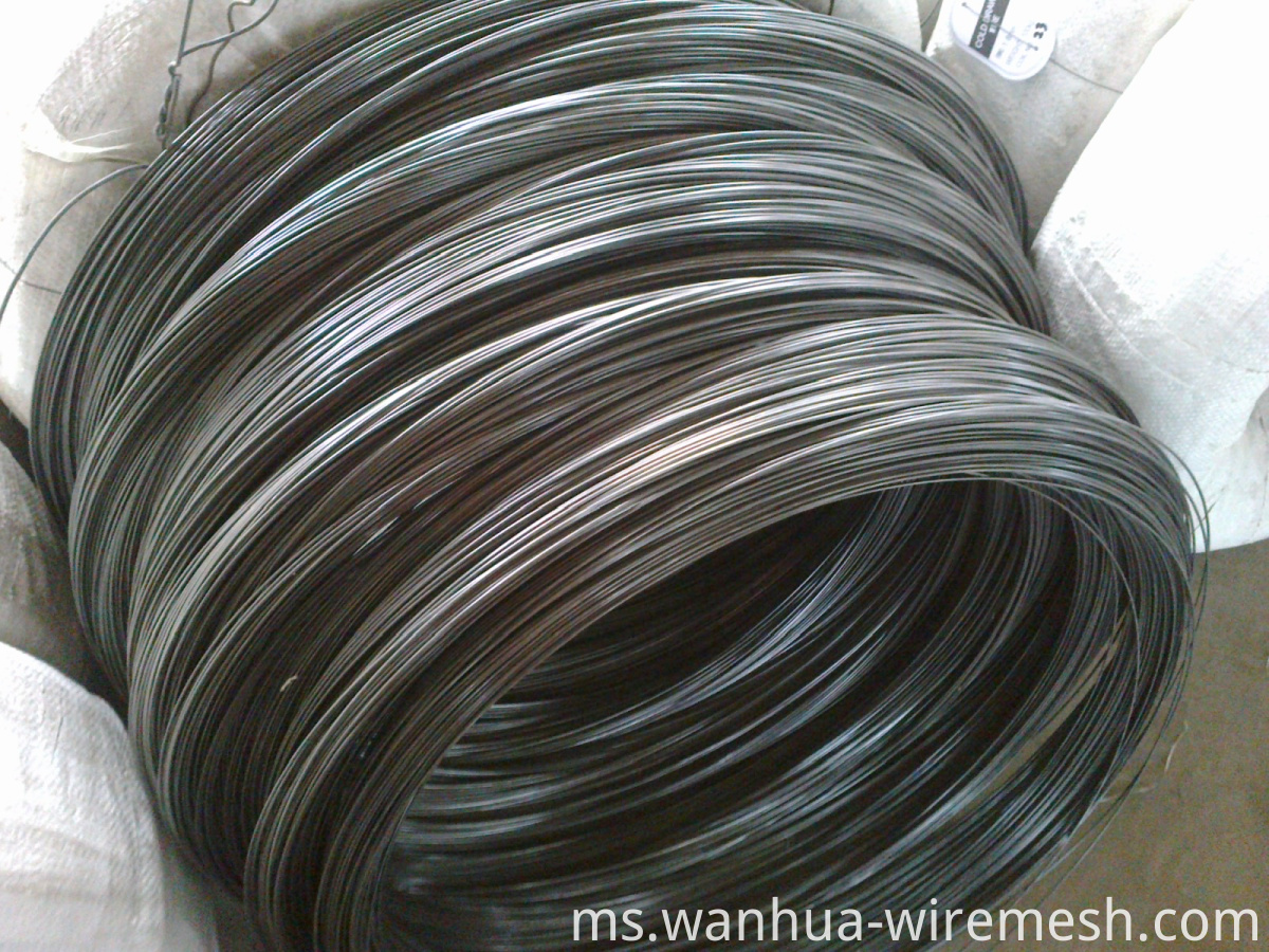 0.9MM diameter round shape Small coil tie wire (3)