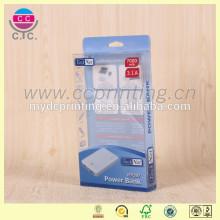 Emballage électronique adapté aux besoins du client de boîte en plastique de paquet plat