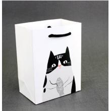 Sacos de papel animais do vestuário bonito dos desenhos animados