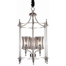 Iron Pendant Lighting, Nickel Finish, für Home Design Styles (SL2247-3)