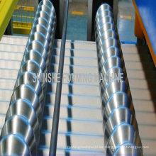 Panel de techo corrugado Máquina de laminado