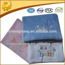 Atacado Weavers 100% Algodão Diversas cores bordadas Design Algodão Cobertor Mão Tecida Para Bebê