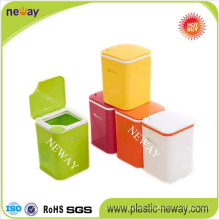 New Design Cheap Colorful Household Dustbin Waste Bin for Rubbish