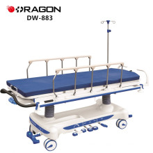 DW-883 Hospital Adjustable Rise And Fall Hydraulic Pump Stretcher Cart