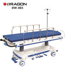 DW-883 Hospital Adjustable Rise And Fall Hydraulic Pump Stretcher Cart