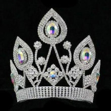 Diamantes de imitación Beauty Pageant coronas para la venta