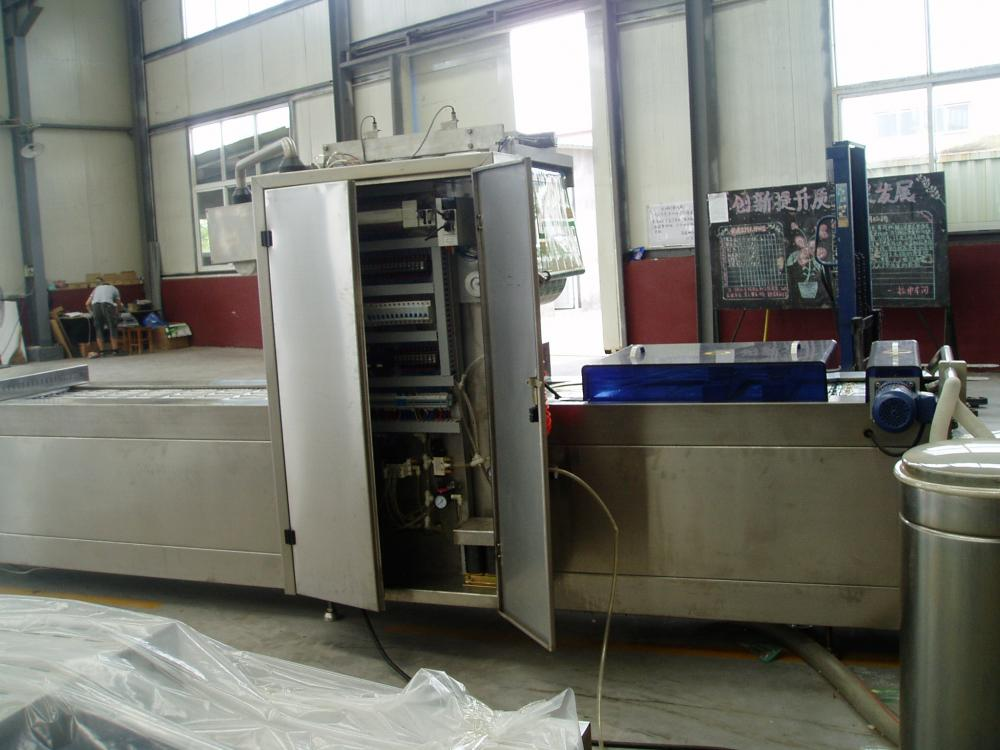 Egg Pocket Shapable Thermoforming Packing Machine