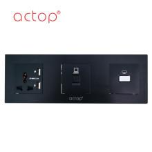 Panel de interruptores de vidrio templado ACTOP