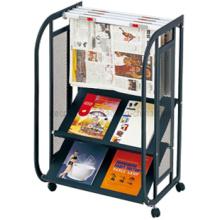 Metal Brochure Newspaper Magizine Display Shelf (DM27)