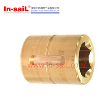 CNC tournant une partie des accessoires en cuivre