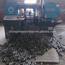 Material de construcción, acoplador del Rebar manga de empalme de barras de refuerzo