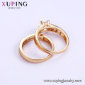 15603 Xuping Jewelry Fashion 18K Gold Color Couple Anillo de la venta caliente