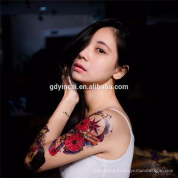 Vente chaude autocollants de tatouage personnalisés de haute qualité