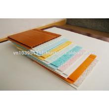 250mm x 5mm x Length PVC plastic panel