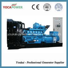 Generator Manufacturer! 880kw/1100kVA Open Diesel Engine Power Electric Generator Diesel Generating Power Generation