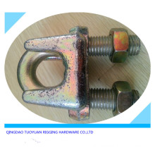 Yellow Chromated Type a Wire Rope Clip