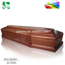 Chinois exportés cercueils de l'artisanat en bois style européen qualité