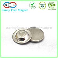 Magnetverschluss runden Magneten Abzeichen