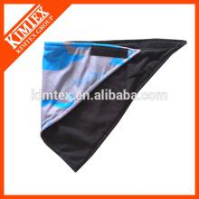 Fashion brand unique printed triangle fleece bandana