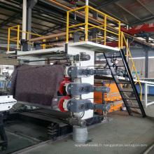 Machine de fabrication de panneau de marbre de PVC (SJSZ65X132)