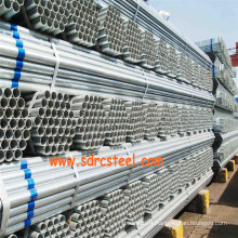 Building Material Round Q235 Pre-Galvanized Steel Pipe
