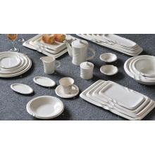 Ensemble de vaisselle en porcelaine pour fournitures d'hôtel