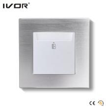 Energy Saver Key Card Leistungsschalter Hr-Es1000-Al Aluminium Alloy Frame