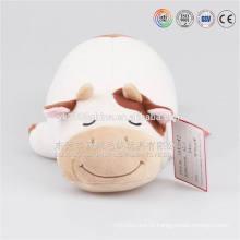 brinquedo sonolento do porco, brinquedos animais enchidos do luxuoso do porco grande por atacado