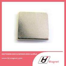Venda quente personalizado permanente NdFeB neodímio ímã de bloco