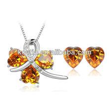 Dubai populares jóias de cristal austríaco austríaco conjuntos