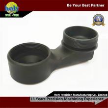 CNC-Bearbeitungsteile Aluminium für den Motoreinsatz mit Schwarz eloxiert