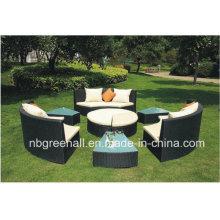 Wicker Sofa Sets für Outdoor als Bett / Sofa