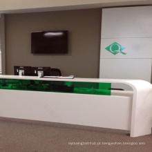 Mesa de Recepção de Design Moderno / Balcão de Recepção / Balcão de Bancos
