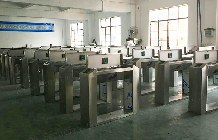Biometric Fixed Arm Tripod Turnstile
