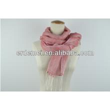 New soft tassel fringe scarf