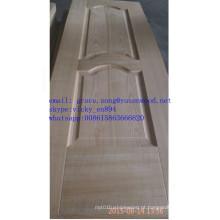 Pele da porta de madeira do fabricante HDF China pele da porta moldada