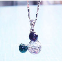 2015 beautiful girls NEW Design Crystal necklace