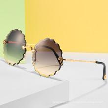 Wholesale Women Fancy Flower Designer Luxury Sunglasses