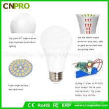 Best Selling 5W Inteligent Rechargeable LED Emergency Bulb Lighting
