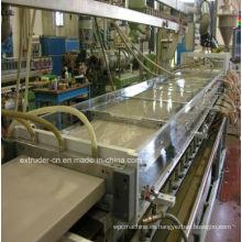 Máquina de la protuberancia del tablón de la puerta / de la espuma de la placa de la puerta del PVC WPC