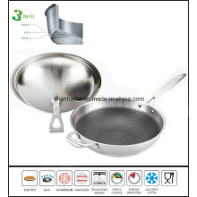 All Clad Stainless Steel Honeycomb Wok