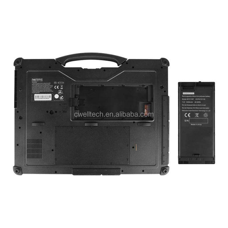 ULAP R14 IP65 Waterproof Fingerprint Unlock NFC 14 Inch 8GB RAM IP65 Waterproof Military Laptop