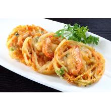 Prepared Fried Vegetable and Seafood Tempura