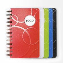 Customize A4 / B5 / A5 / A6 PU Leather Notebook Spiral Notebook B5