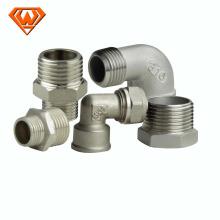 Accesorios de tubería de acero inoxidable NPT ANSI 304 316 de China