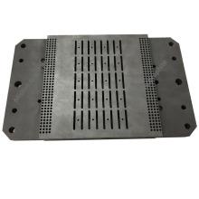 Eletrodo de placa de grafite de carbono de alta densidade